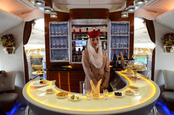 A6-EOP - Emirates Airlines - Aviation Glamour - Flight Attendant