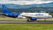 N709JB - JetBlue Airways Airbus A320 aircraft