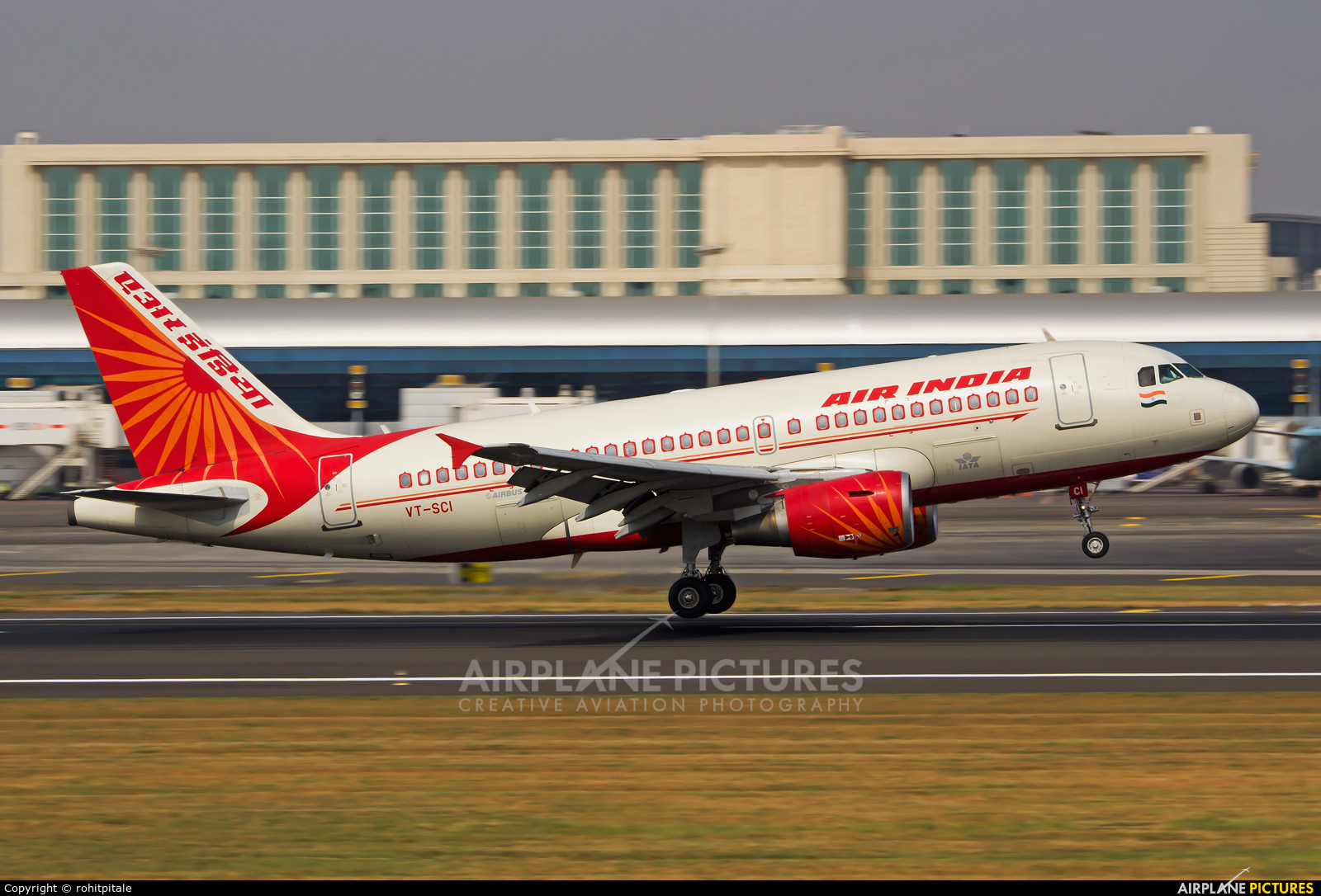 Air India VT-SCI aircraft at Mumbai - Chhatrapati Shivaji Intl