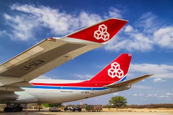 LX-SCV - Cargolux Boeing 747-400F, ERF