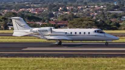 N233VR - Private Learjet 55