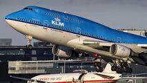 PH-BFR - KLM Boeing 747-400 aircraft