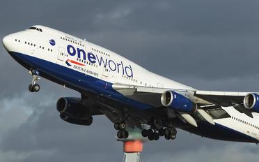 G-CIVC - British Airways Boeing 747-400