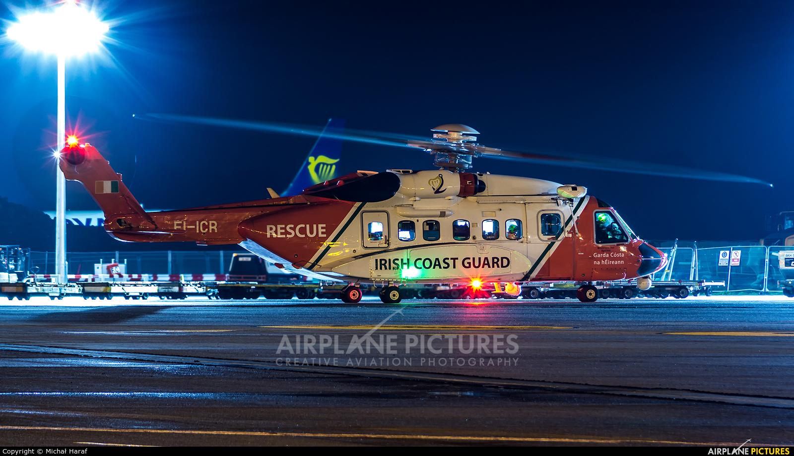 CHC Ireland EI-ICR aircraft at Dublin