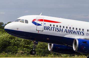 G EUPG - British Airways Airbus A319