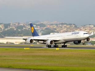 D-AIHI - Lufthansa Airbus A340-600