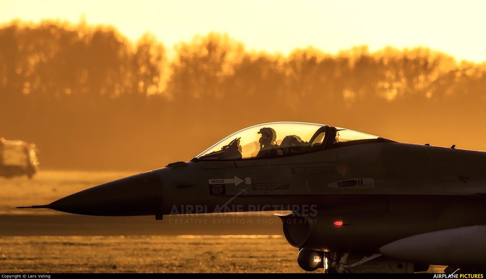 Netherlands - Air Force J-136 aircraft at Uden - Volkel