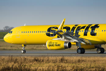 D-AVZB - Spirit Airlines Airbus A321