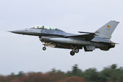 FB-18 - Belgium - Air Force General Dynamics F-16B Fighting Falcon aircraft