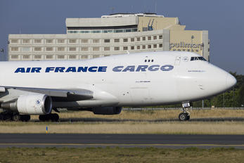 F-GIUA - Air France Cargo Boeing 747-400F, ERF