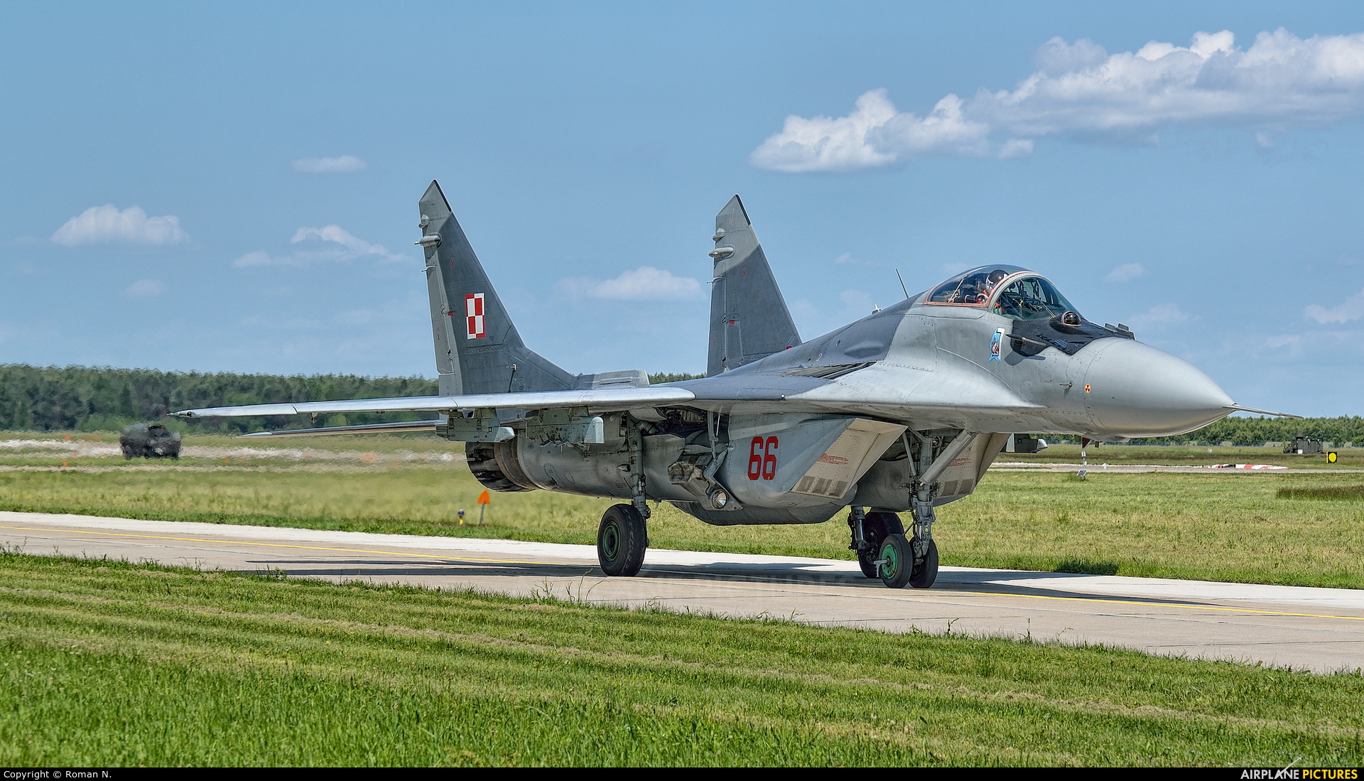 Poland - Air Force 66 aircraft at Mirosławiec