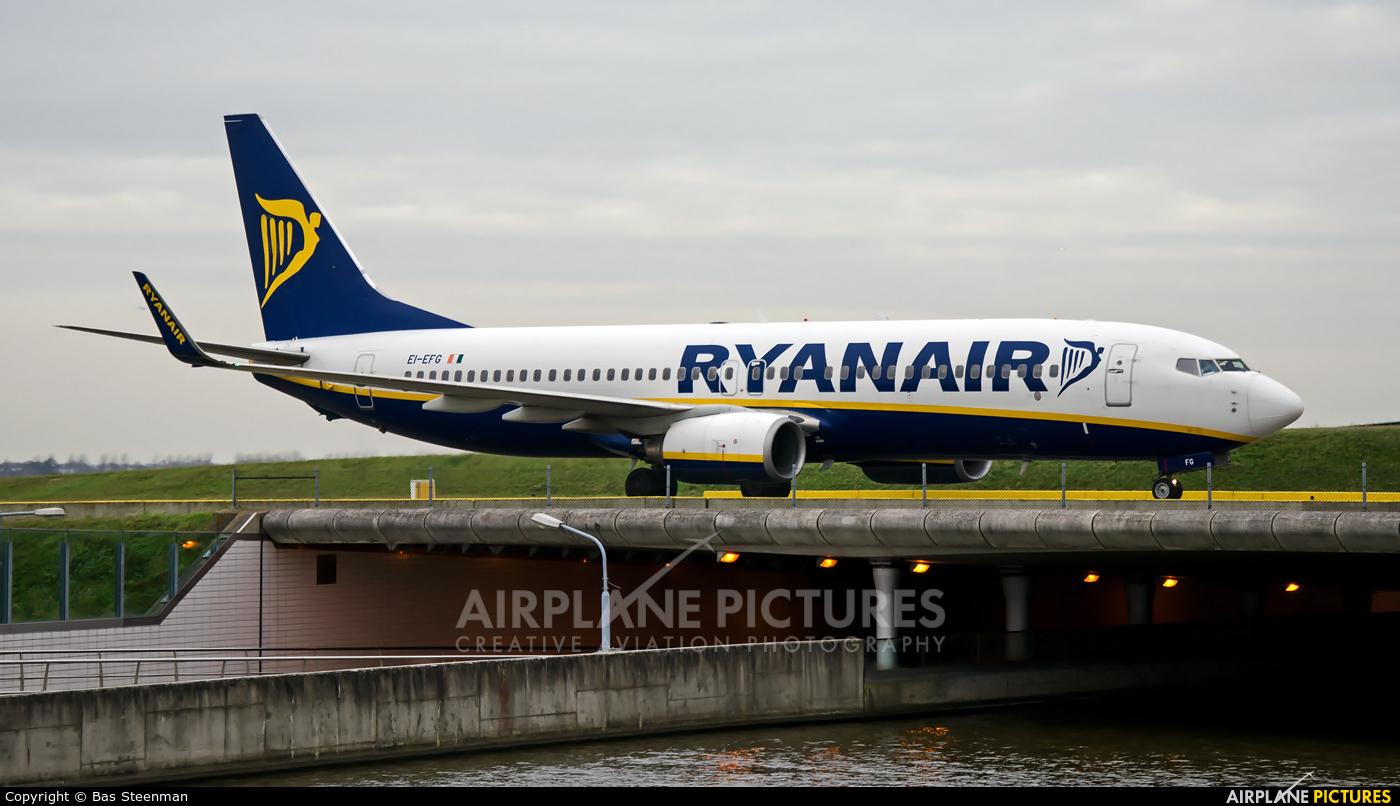 Ryanair EI-EFG aircraft at Amsterdam - Schiphol