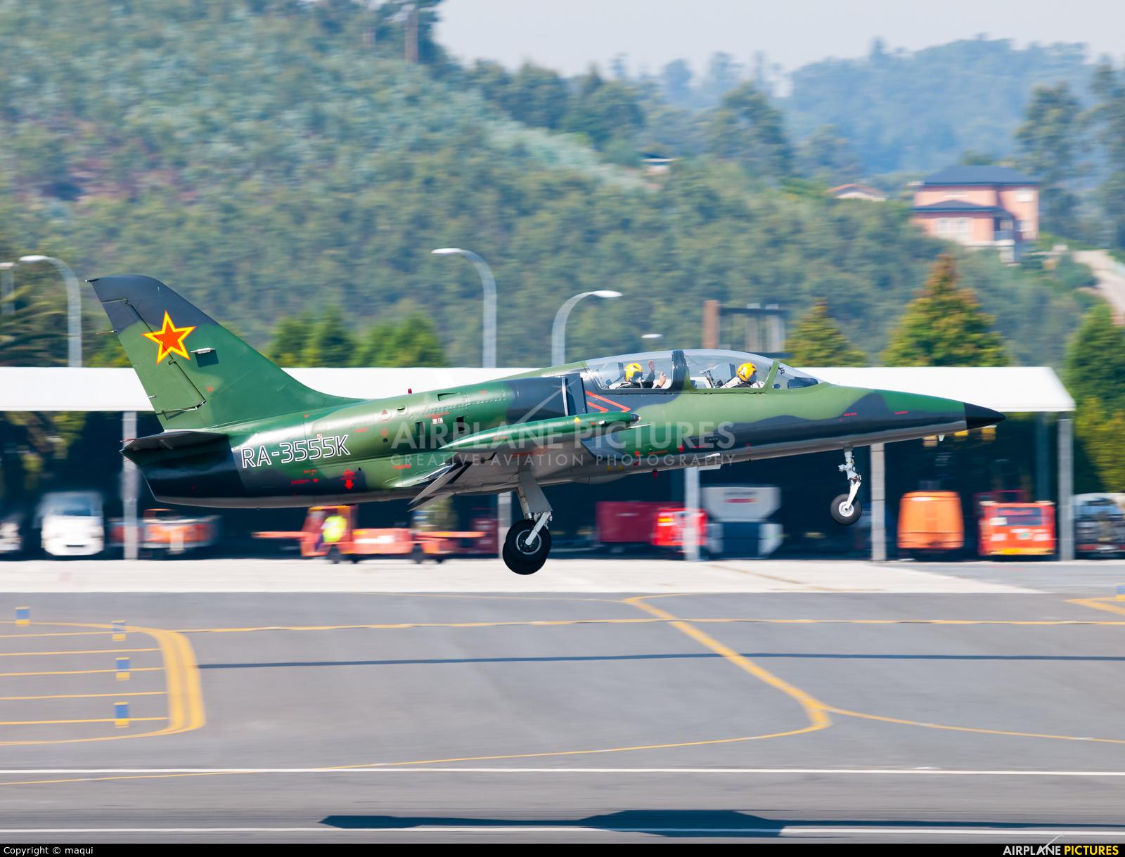 Private RA-3555K aircraft at La Coruña