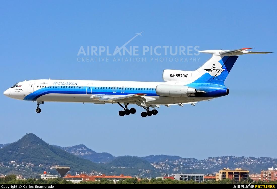 Kolavia RA-85784 aircraft at Barcelona - El Prat