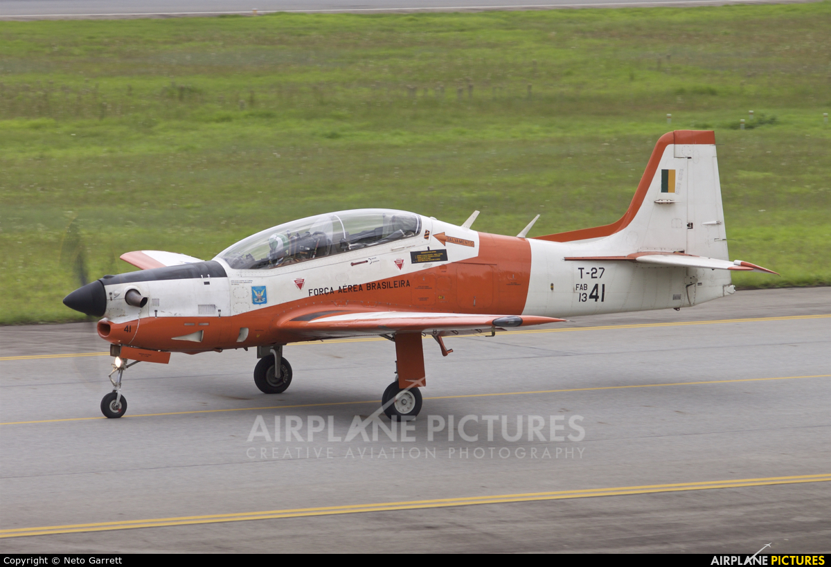 Brazil - Air Force FAB1341 aircraft at São Paulo - Guarulhos