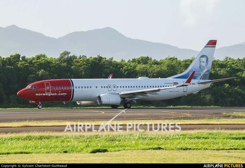 Norwegian Air Shuttle Ln Nig Aircraft At Martinique Aimé Césaire