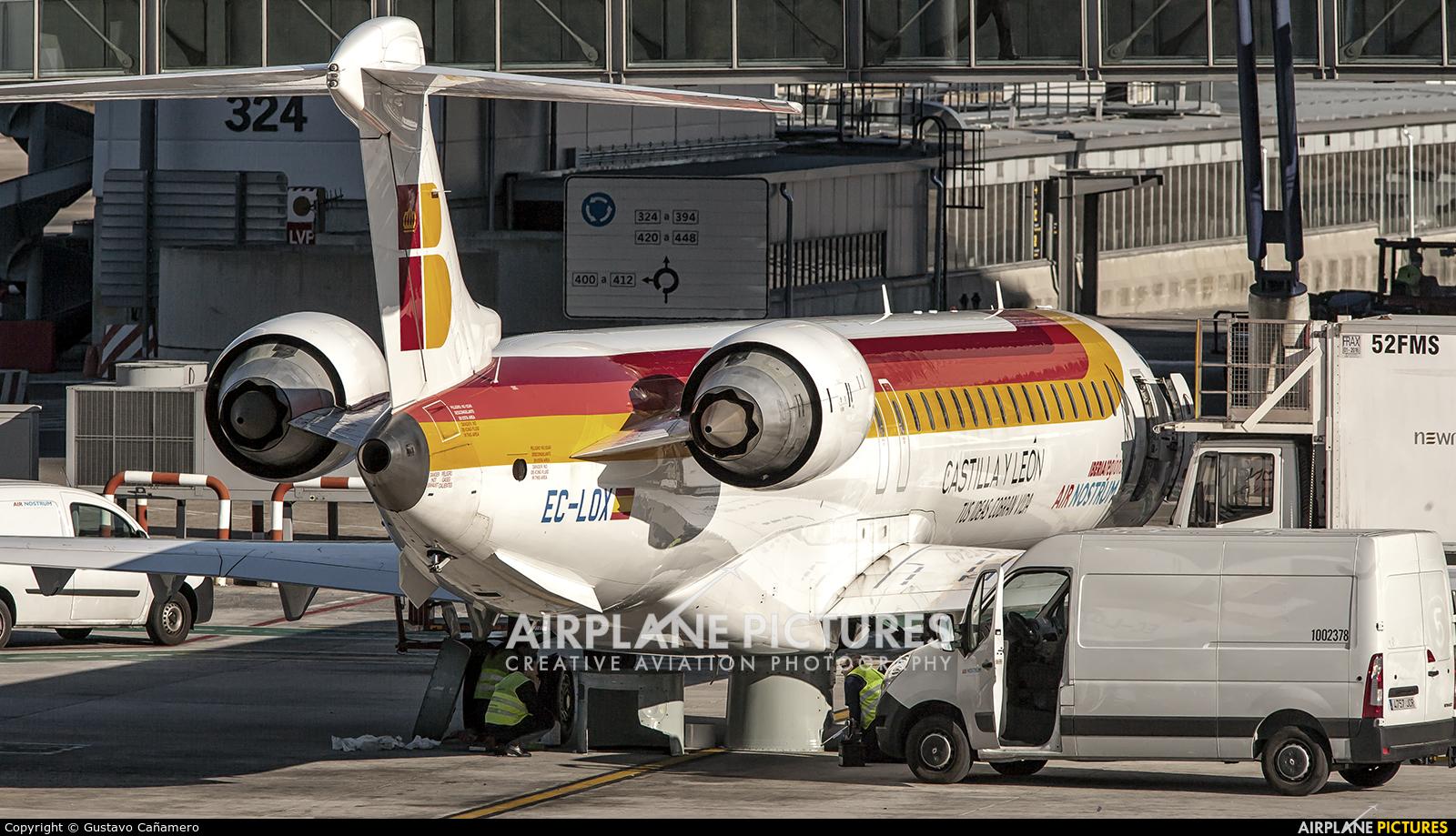 Air Nostrum - Iberia Regional EC-LOX aircraft at Madrid - Barajas