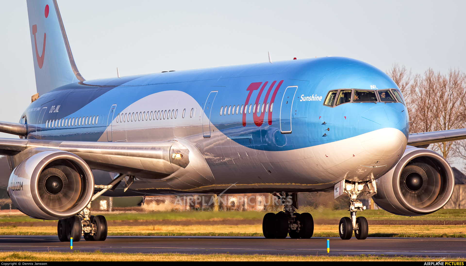 Jetairfly (TUI Airlines Belgium) OO-JNL aircraft at Amsterdam - Schiphol