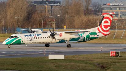 SP-EQE - LOT - Polish Airlines de Havilland Canada DHC-8-400Q / Bombardier Q400