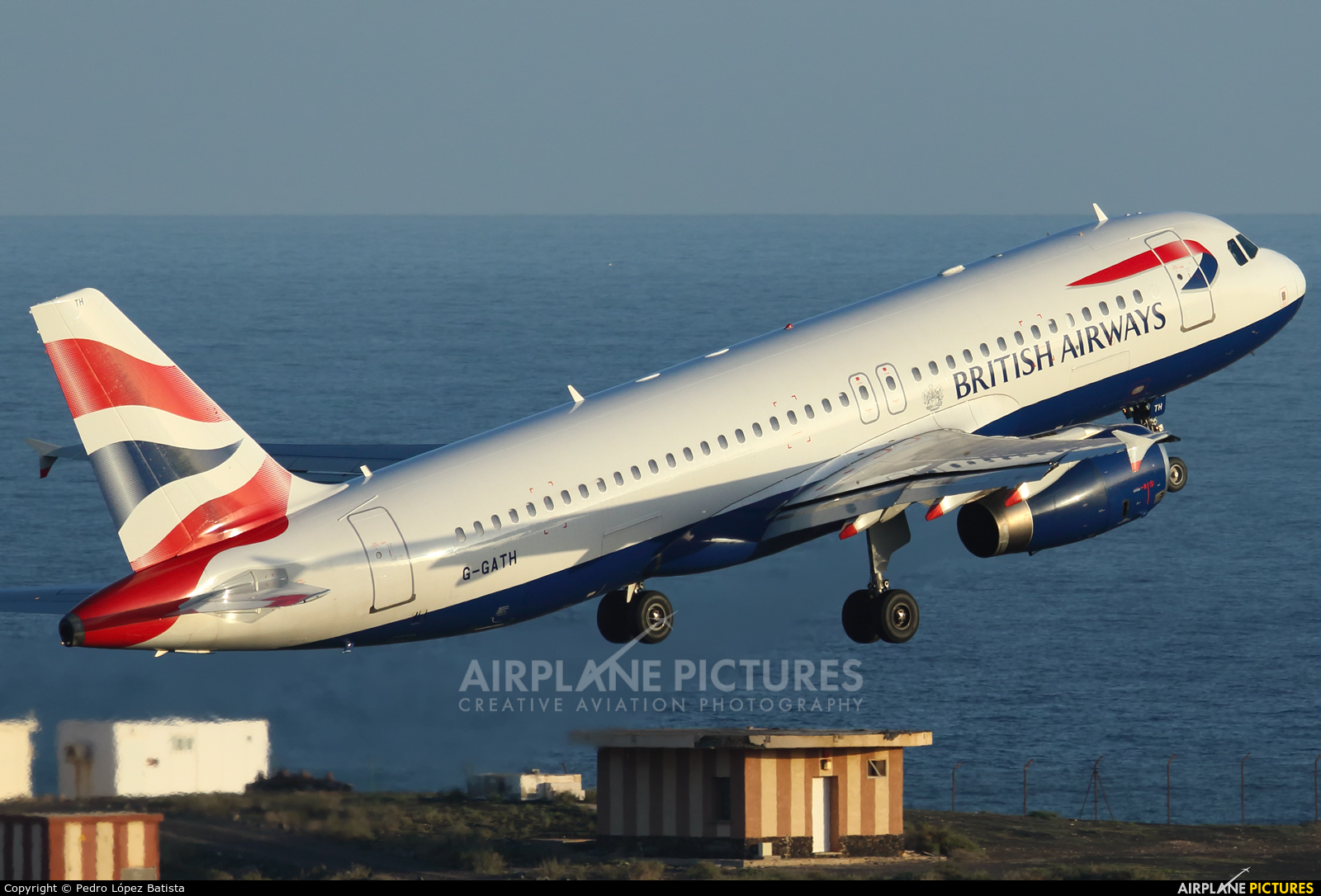 British Airways G-GATH aircraft at Fuerteventura - Puerto del Rosario