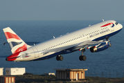 G-GATH - British Airways Airbus A320 aircraft