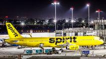 N660NK - Spirit Airlines Airbus A321 aircraft