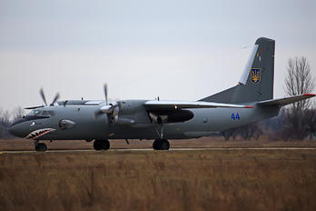 44 BLUE - Ukraine - Air Force Antonov An-26 (all models)