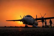 PH-FZG - Denim Air Fokker 50 aircraft