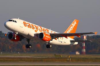 G-EZGF - easyJet Airbus A319