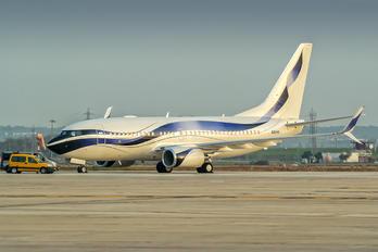 N111VM - Private Boeing 737-700 BBJ