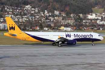 G-ZBAF - Monarch Airlines Airbus A321