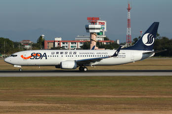 B-7086 - Shandong Airlines  Boeing 737-800