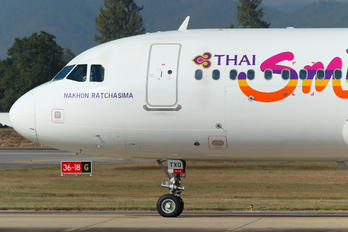 HS-TXO - Thai Smile Airbus A320