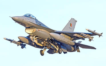 FA-57 - Belgium - Air Force General Dynamics F-16A Fighting Falcon