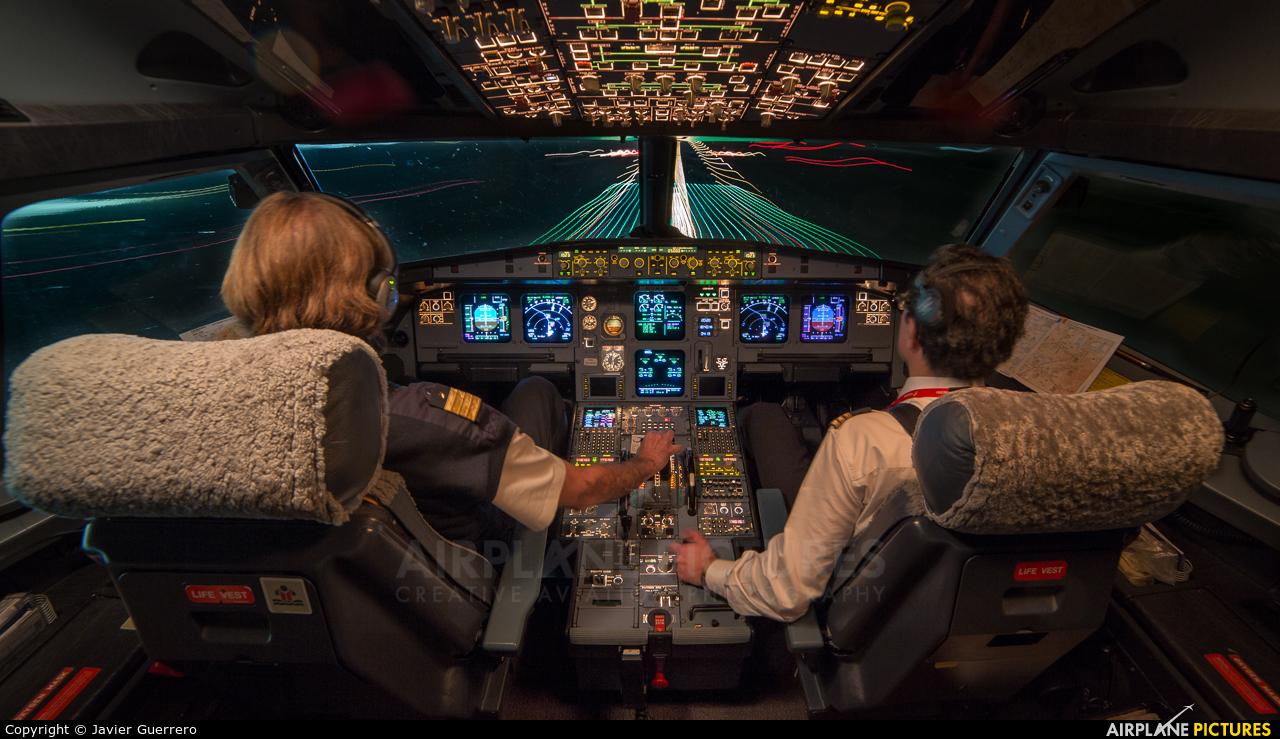 Iberia EC-JAZ aircraft at Madrid - Barajas