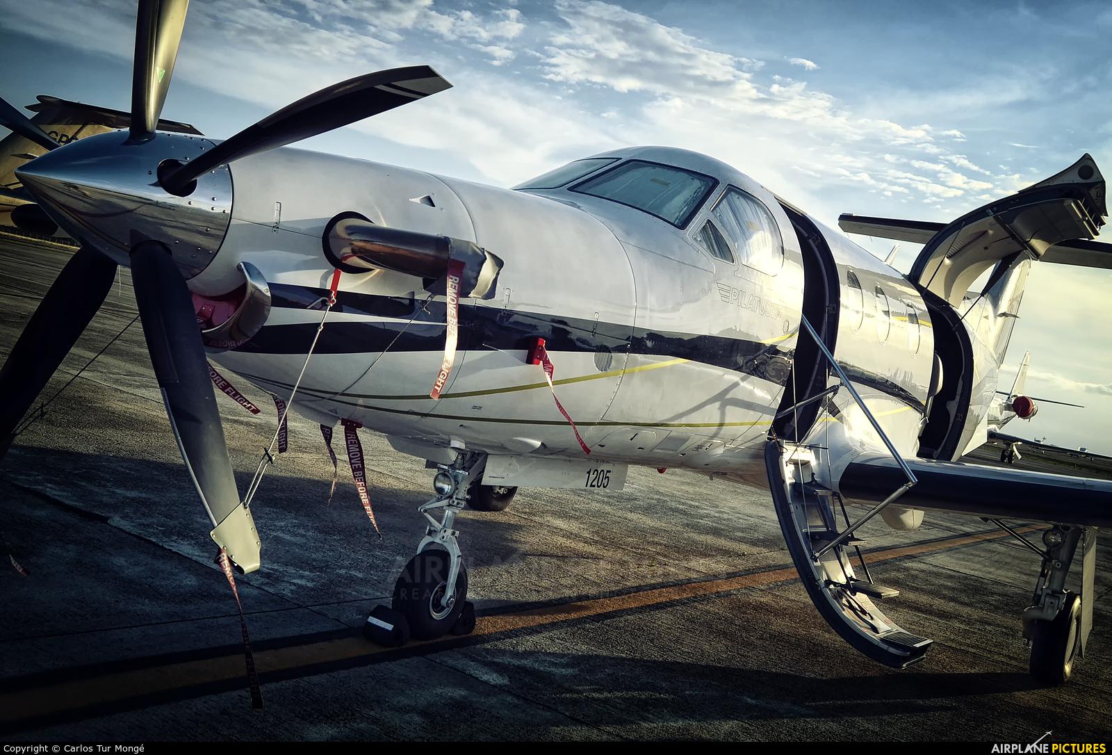 Private T7-PBL aircraft at Ibiza