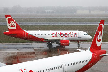 HB-JOY - Air Berlin - Belair Airbus A319