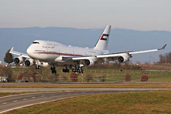 A6-HRM - United Arab Emirates - Government Boeing 747-400