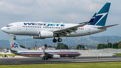 C-GWSU - WestJet Airlines Boeing 737-700
