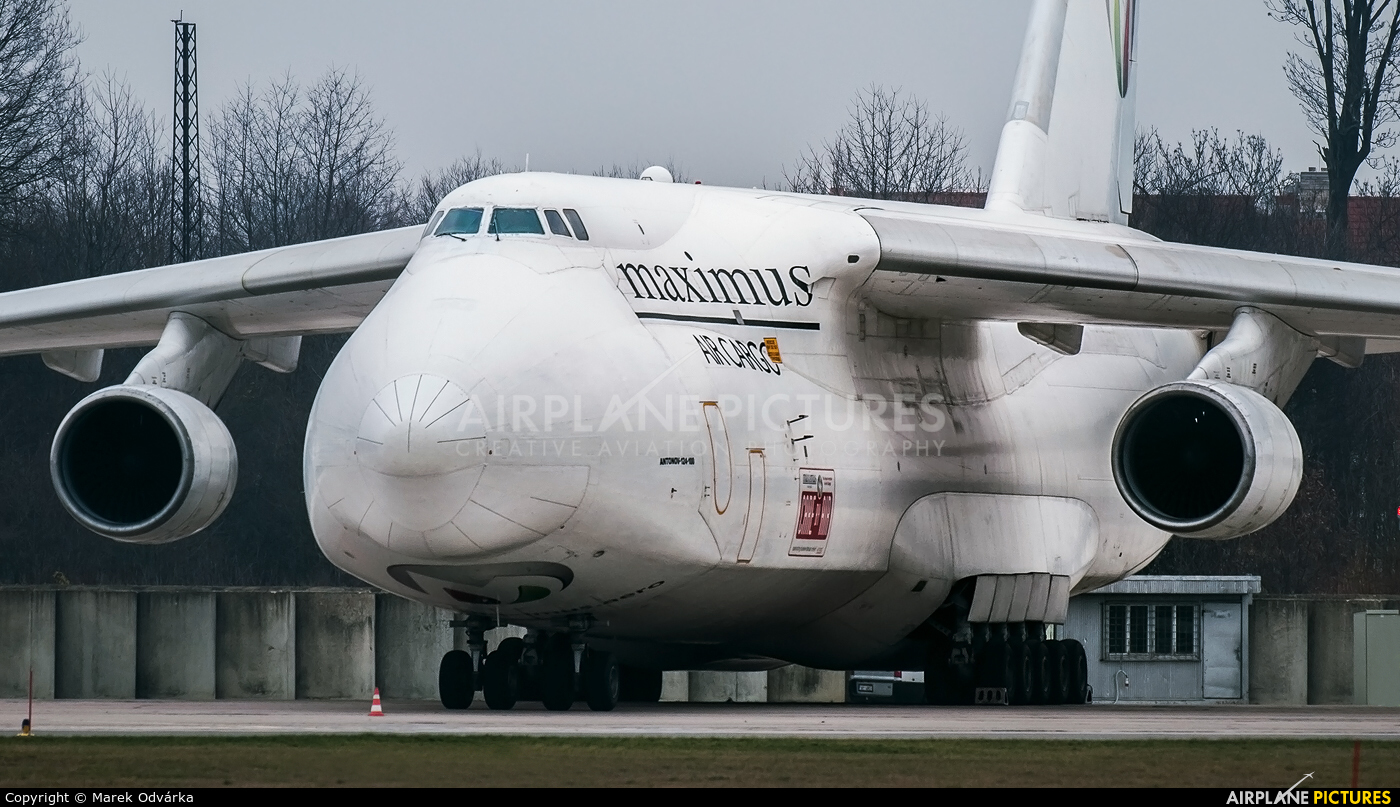 Maximus Air Cargo UR-ZYD aircraft at Pardubice