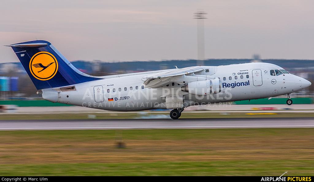 Lufthansa Regional - CityLine D-AVRP aircraft at Munich