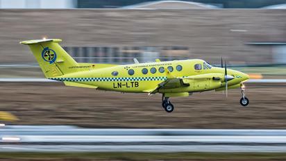 LN-LTB - Lufttransport Beechcraft 200 King Air