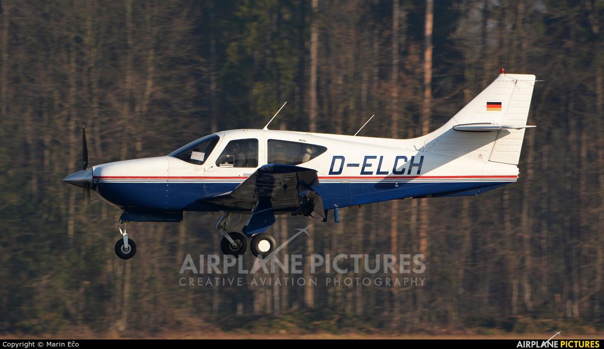 Private D-ELCH aircraft at Ljubljana - Brnik