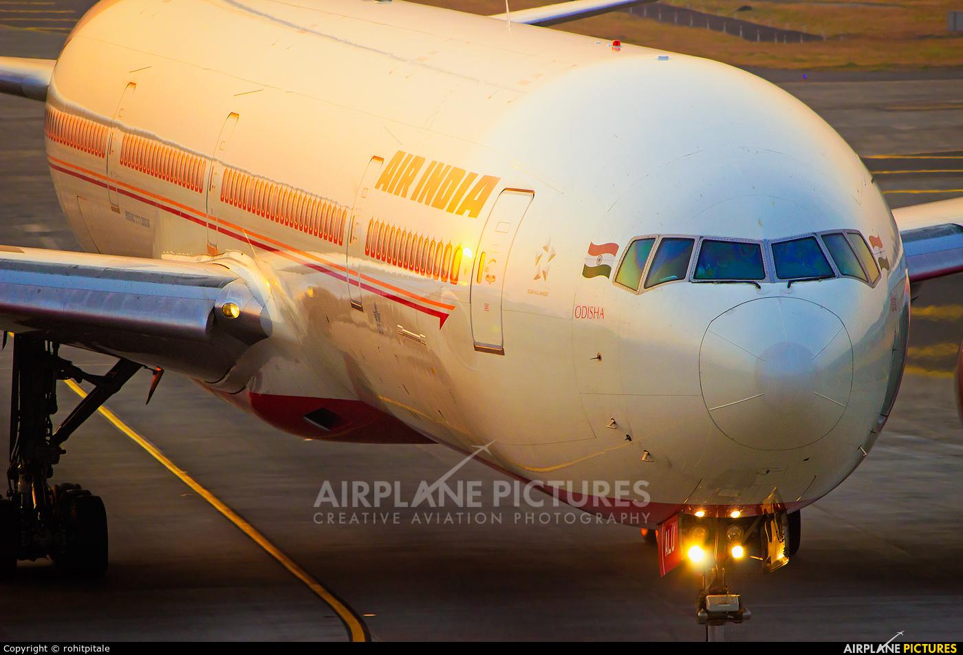 Air India VT-ALU aircraft at Mumbai - Chhatrapati Shivaji Intl