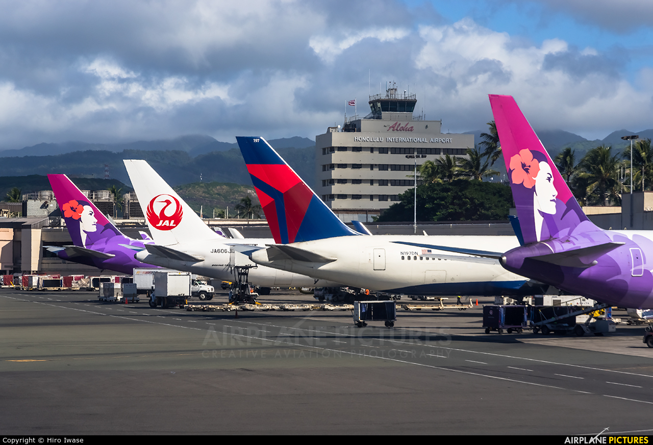 - Airport Overview - aircraft at Honolulu Intl