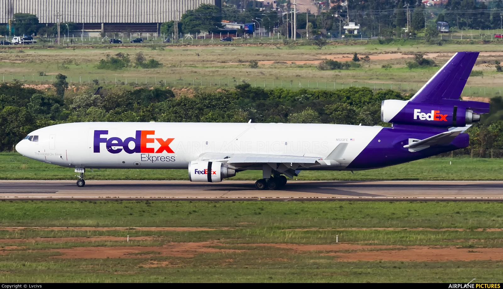 FedEx Federal Express N523FE aircraft at Campinas - Viracopos Intl