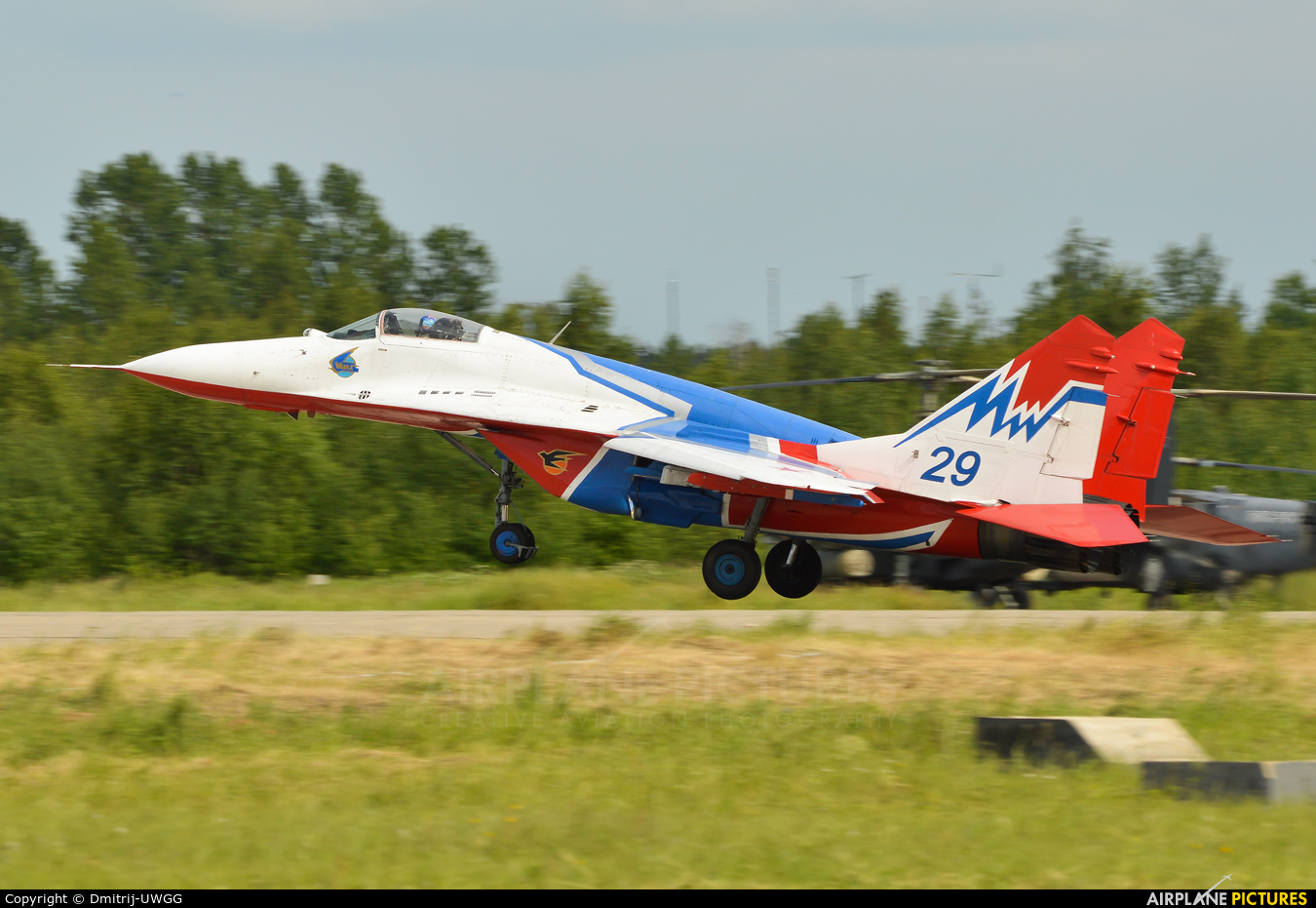 """Russia - Air Force """"Strizhi"""" 29 aircraft at Undisclosed Location"""