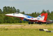 "29 - Russia - Air Force ""Strizhi"" Mikoyan-Gurevich MiG-29 aircraft"