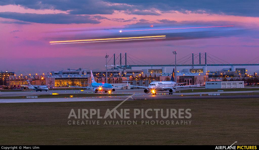 Lufthansa D-AIDP aircraft at Munich