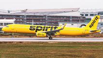 N662NK - Spirit Airlines Airbus A321 aircraft